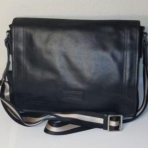 Bally Switzerland Leather Crossbody Messenger Bag